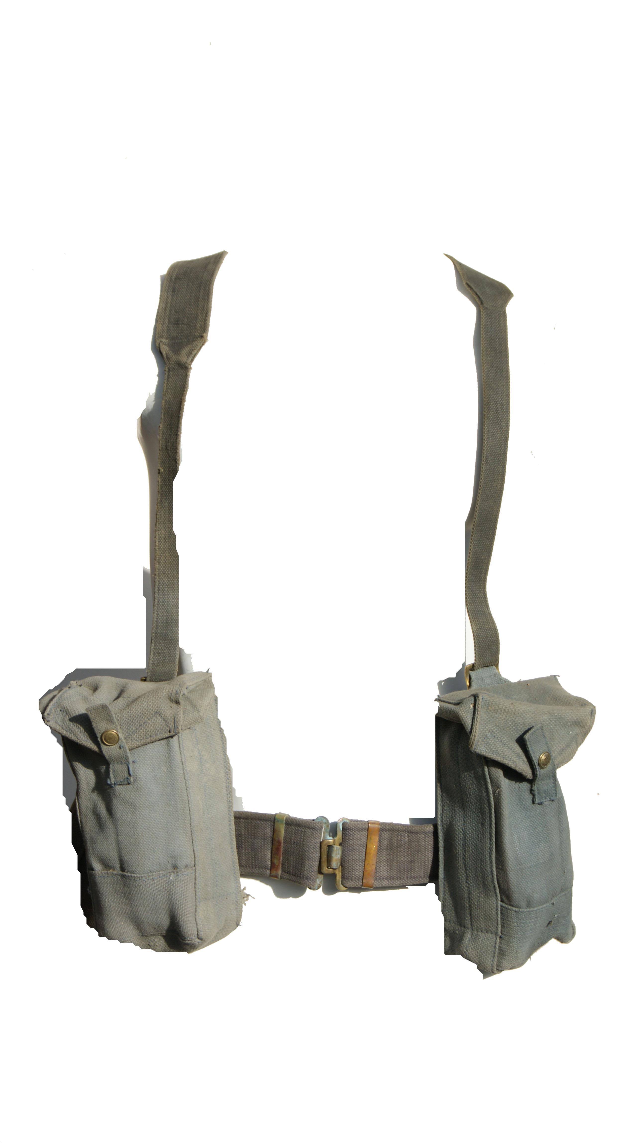 WW2 Era British Army 1937 Pattern Webbing Kit Raf